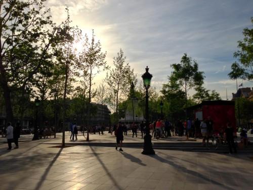 Nouvelle place de la République, Paris
