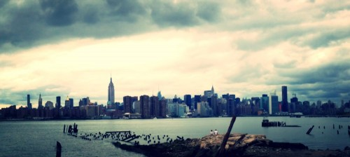 Panorama de la Skyline de Manhattan de Brooklyn