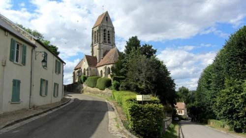 Eglise Saint Denis de Berville (Val d'Oise) - Vexin français