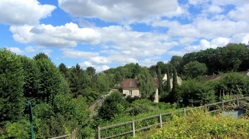 Vue de Berville (Val d'Oise) - Vexin français