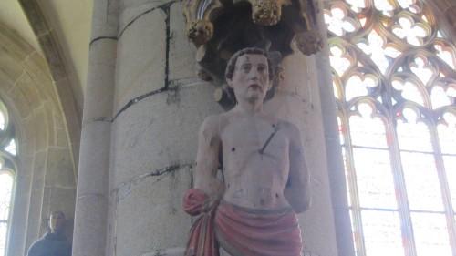 Eglise de Kernascléden - Saint-Sébastien