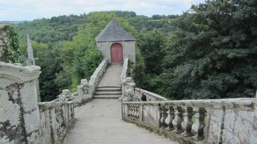 Chapelle Sainte-Barbe - Le Faouët - Escalier Renaissance