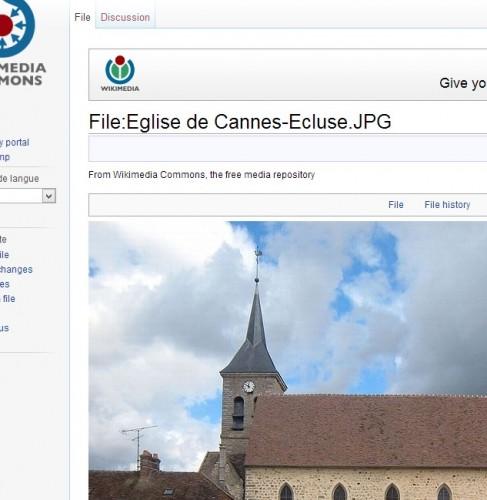 Eglise Saint Georges de Cannes Ecluse sur Wikipédia