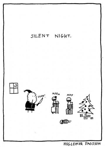 Silent Night - Hugleikur Dagsson