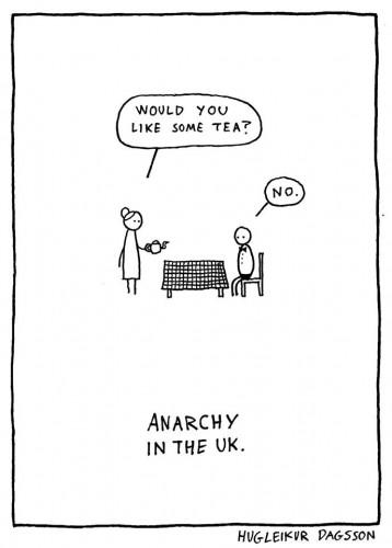 Anarchy in the UK - Hugleikur Dagsson.