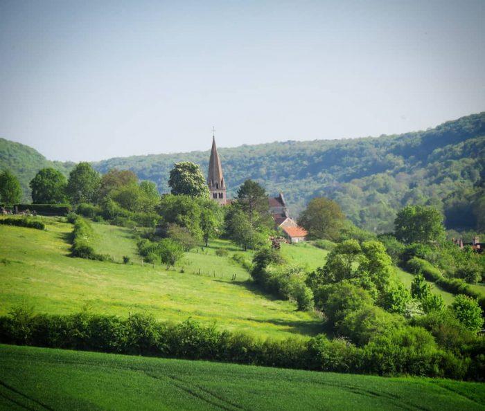 panorama de Bligny-sur-Ouche
