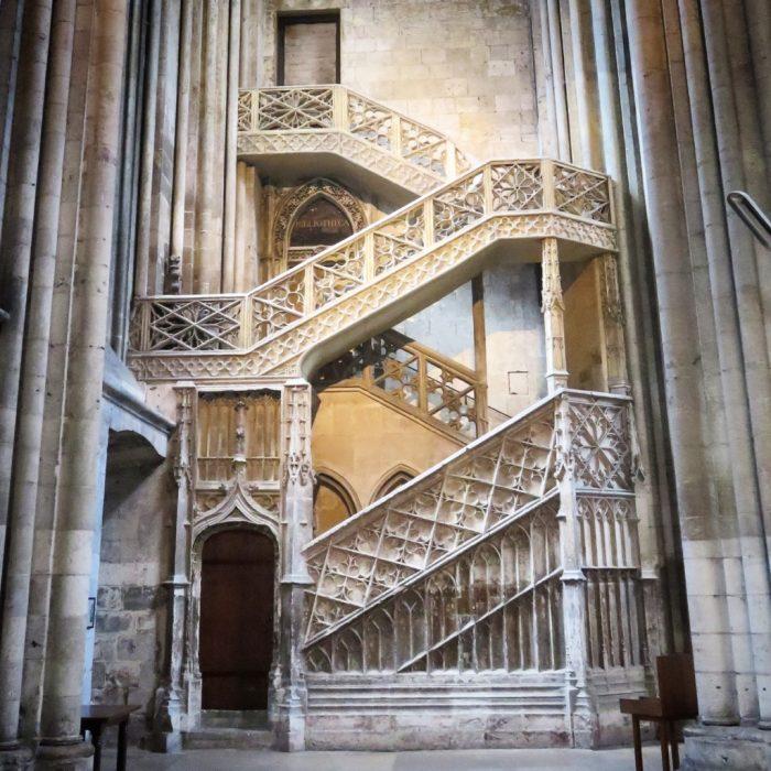 Cathédrale Notre-Dame de Rouen (Escalier des libraires)