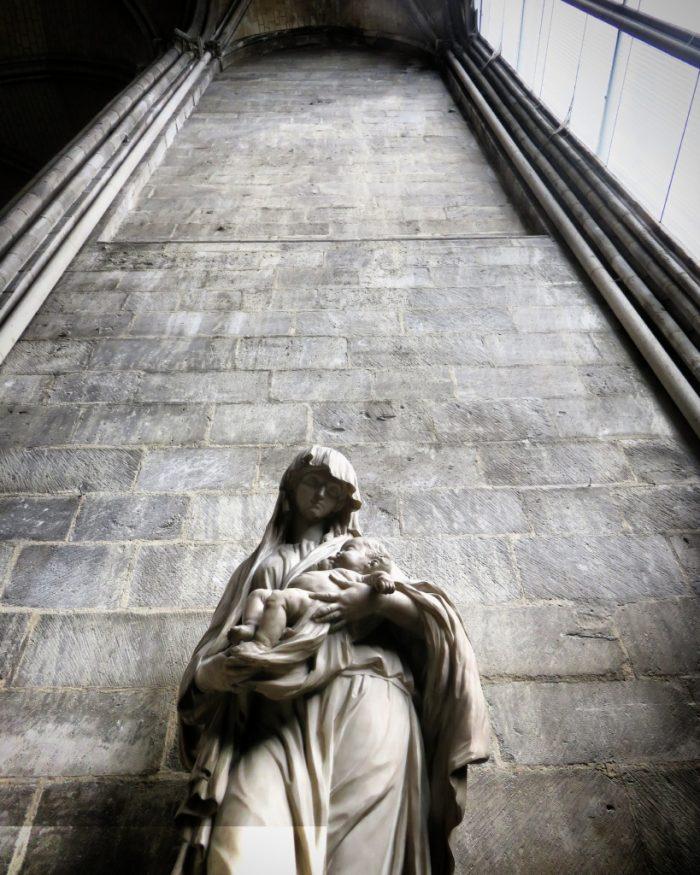 Cathédrale Notre-Dame de Rouen (Vierge à l'Enfant)