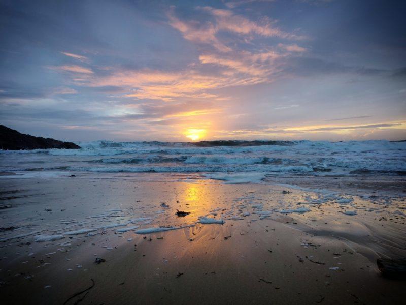 coucher de soleil à Bellangenet