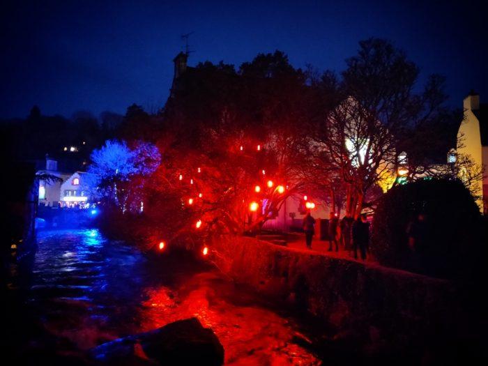 Pont-Aven la nuit