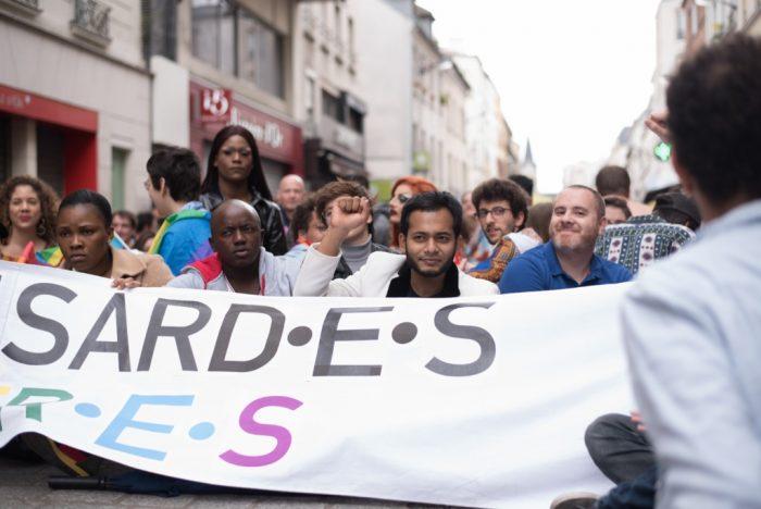 Marche des Fiertés de Banlieue à Saint Denis (Photo de Xavier Héraud)