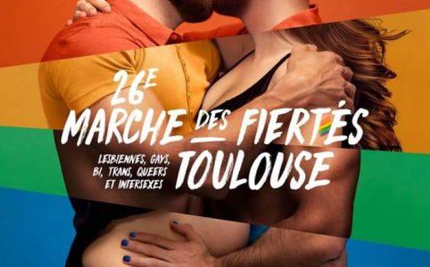 Affiche de la Pride Toulouse 2020