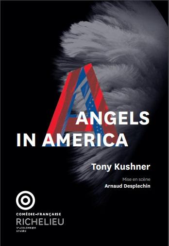 Affiche de Angels in America à  la Comédie Française