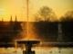 Fontaine des Tuileries au couchant